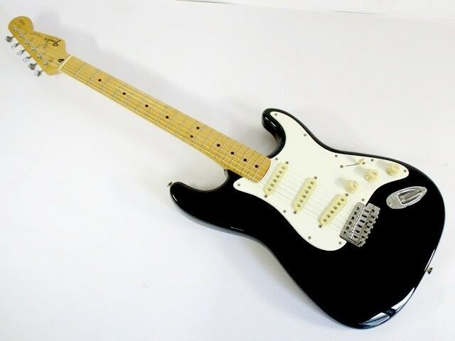 Fender Mexico Squier Series Stratocaster BK beautiful rare EMS F S