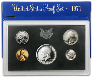 1971-S-United-States-Mint-5-Coin-Proof-Set
