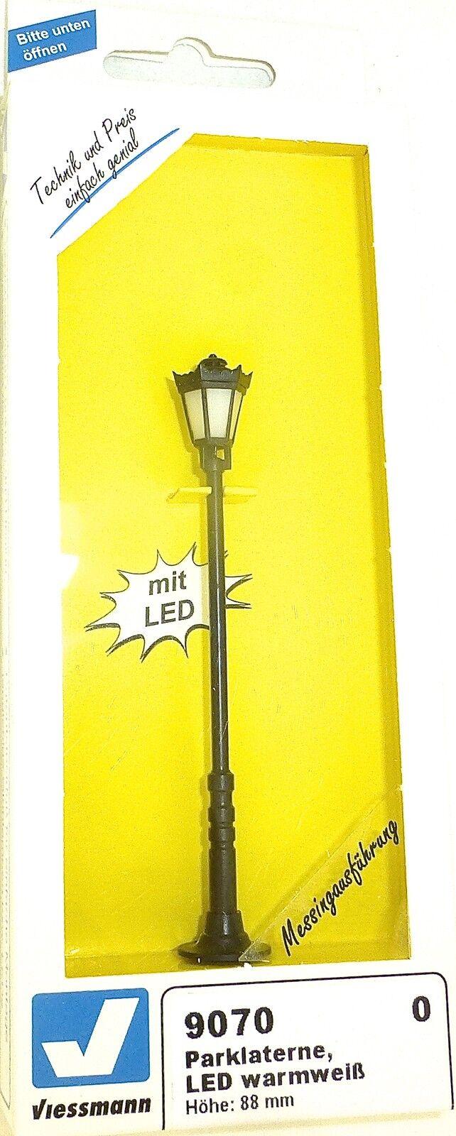 Lanterna Parco LED Bianco Caldo 88mm Alto viessuomon 9070 Scala 0 Nuovo Ovp  Q Μ