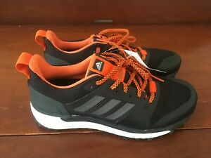 74b1a7561ee76 Details about Adidas Supernova Men's Boost Trail Running Shoes Black/Orange  Size 9.5 CG4025