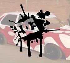Wakaba DC Splatter JDM Sticker Aufkleber OEM Power fun like Shocker Hater