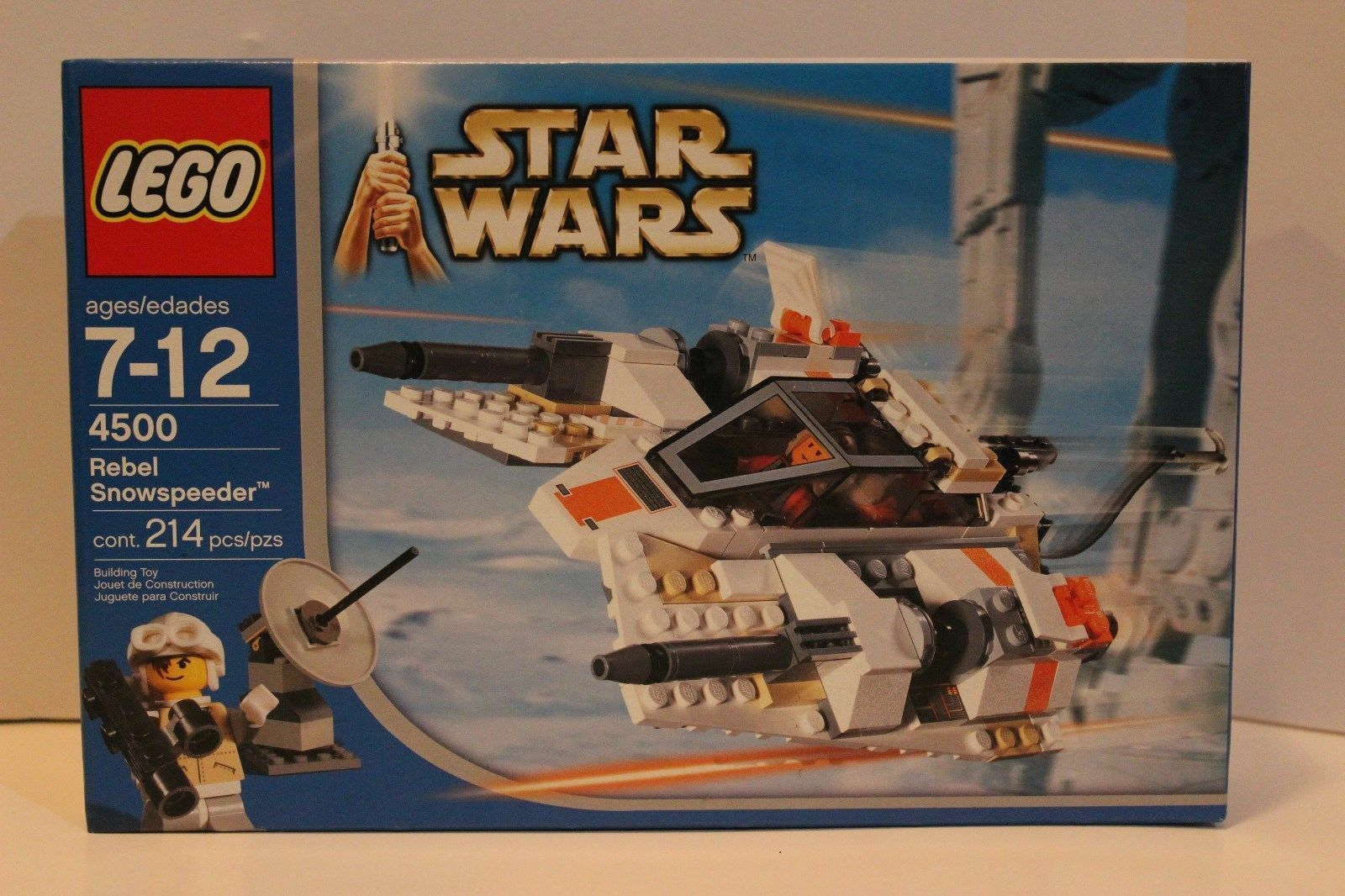 LEGO Star Wars Rebel Snowspeeder  4500  Nuovo Sealed
