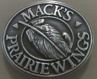 Men/'s Brown Leather Belt with Mack/'s Prairie Wings Conchos Hunting 42 R