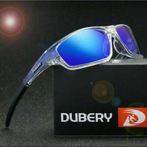 DUBERY Men/'s Sport Polarized Driving Sunglasses Outdoor Riding Fishing Goggles `