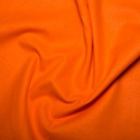 BUDGET 100/% COTTON SOLID PLAIN Dressmaking Craft Fabric 142cm Wide FREE P/&P