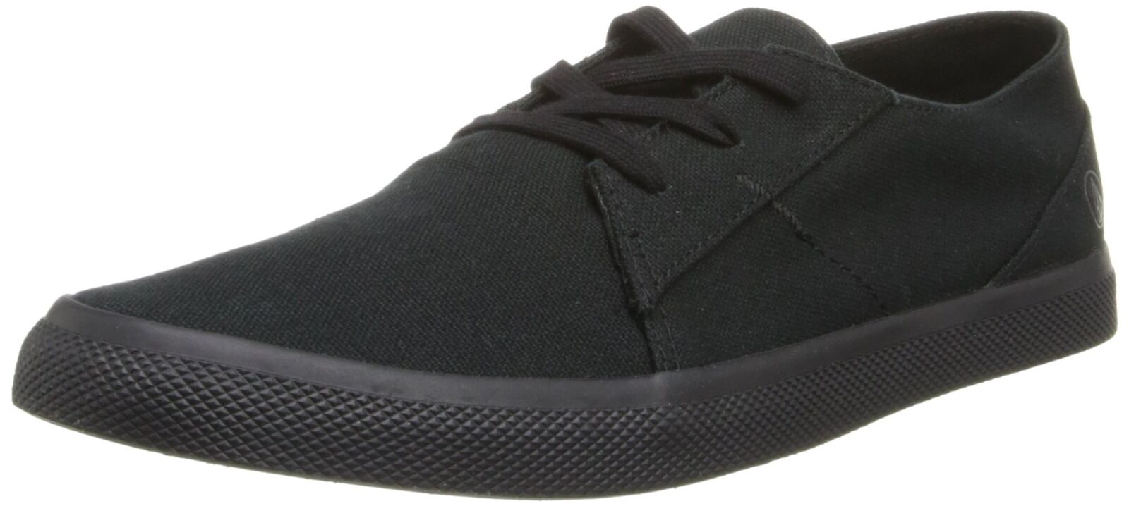 Volcom Men's Lo Fi Low Top Sneaker Black on Black 6 D(M) US