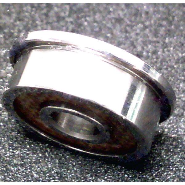 SFR2-6-2TS EZO Flanged Bearing 1 8 x3 8 x9 64  inch Miniature-Made in Japan