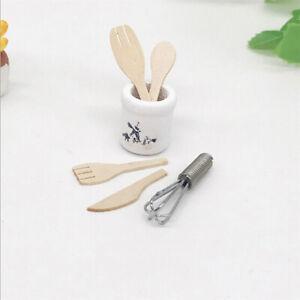 1-12-Miniatur-Holz-Messer-und-Gabel-Metall-Schneebesen-Glas-Puppenhaus-Zube-zi