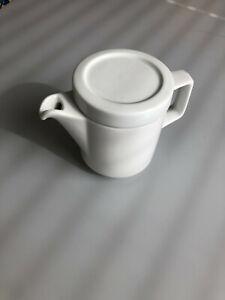 Kaffeekännchen Rationell aus Porzellan / DDR / GDR / Ost / Mitropa / M. Jahny