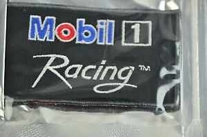 Mobil-1-Motorsport-Oil-Racing-Patch-3-5-034-x-2-034-NEW-in-Package-FREE-SHIPPING