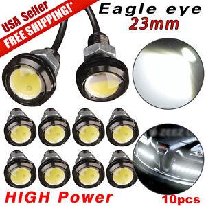 Signal 23mm 12v Eye White Pcs Details About Daytime Running Eagle Bulbs Led Lights Car 9w 10 b6vYgyI7f