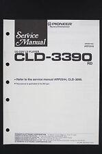 PIONEER CLD-3390 RD Original CD CDV LD-Player Service-Manual/Circuit Diagram 122