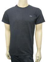 Mens Mexx R Neck T Shirt Top Soft Cotton Black Size S to XXL MT517 D2