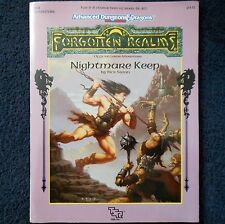 FA2 Nightmare Keep Advanced Dungeons & Dragons Adventure Module D&D RPG TSR 9341