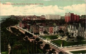 Vintage Postcard - 1912 Riverside Drive North From 72d Street New York NY #4278