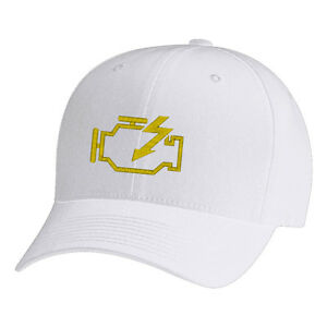 b4440d98ab1 Image is loading Check-Engine-Light-Flexfit-Fine-Finished-Embroidery-Hats