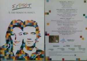 Esprit Il Tuo Mondo In Musica  Morgan Zero Assoluto Giuliano Palma Boosta DVD