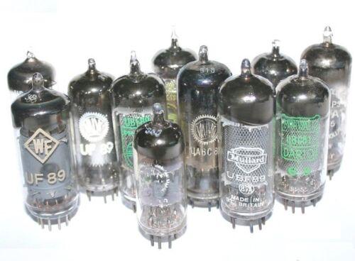used tubes Tested!! U serie valves Radio tubes select tube model