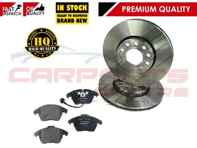 2x Brake Disc Set Pair Internally Vented 326mm Jaguar Eicher Premium YH20817