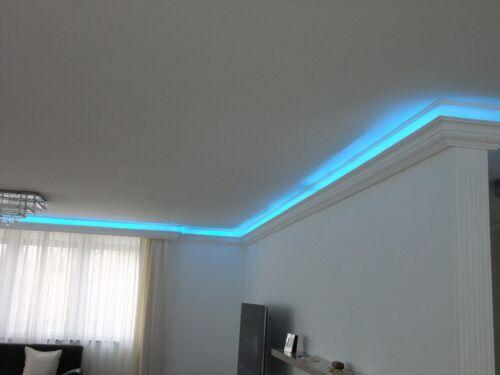 2 m Indirekte Beleuchtung LED Lichtprofile Wand Stuckleiste Beleuchtung BL 09