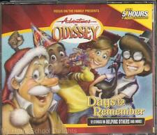 New DAYS TO REMEMBER Adventures in Odyssey #31 4 CD Audio Set Christian Values