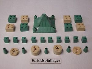 - Sand Green LEGO HARRY POTTER Cone 2 x 2 x 2 - X2
