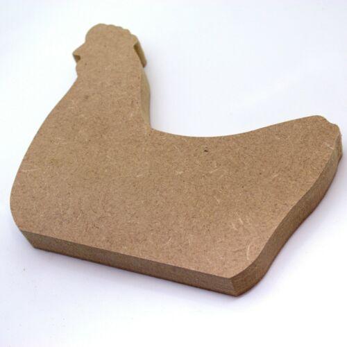 Pollo Animali Installazione libera 18mm MDF Gallina Craft Forma Varie Taglie Fattoria