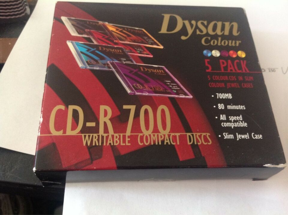 Cd-R 700 Writable compact disc 5 Pac
