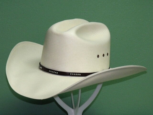 Stetson Mens 10X Grant Straw Cowboy Hat