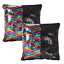Reversible-Two-Tone-Sequin-cushion-Pillow-for-Sofa-Bed-Home-Decor thumbnail 32