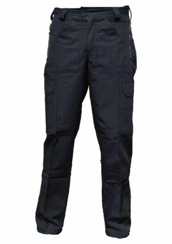 Black Ripstop Tactical Cargo Trousers Female R1U
