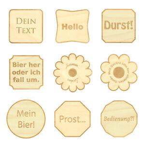Design-Untersetzer-Bierdeckel-graviert-mit-Wunschtext-aus-Holz