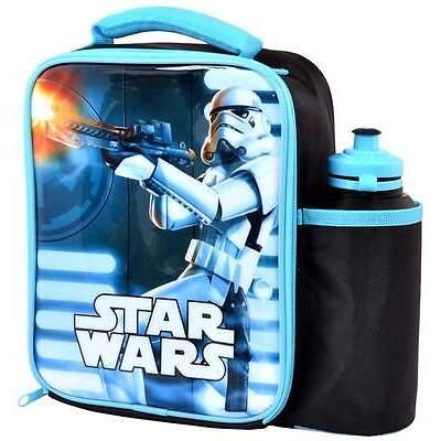Star Wars Stormtrooper Vertical Lunch Bag/Box and Bottle Set   Storm Trooper