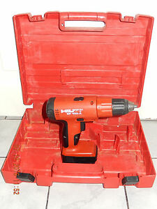 hilti sb10 profi akkubohrschrauber aus 2001 akku akkulader gepr ft von privat ebay. Black Bedroom Furniture Sets. Home Design Ideas