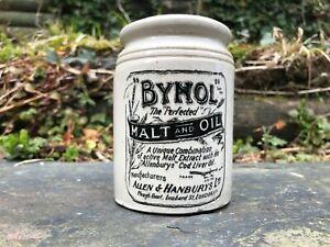 1Ib Bynol Food Jar From Keillers Dundee Marmalade Pot Stoneware Jam Pot