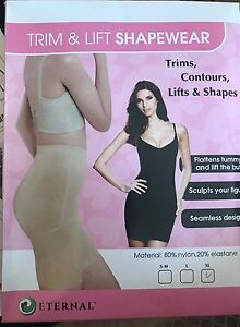 a32e3d6c4c85a TRIM   LIFT Sculpting Body Shaper Thigh Butt Lift Tummy Girdle ...