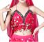 Womens Sequin Halter Bra Top Salsa Belly Dance Boho Festival Clubbing Tribal BH
