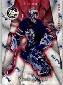 1997-98 Pinnacle Totally Certified Platinum Red Curtis Joseph 3940/4299 #18