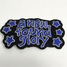 NEW FOUND GLORY MUSIC PATCH SEW or IRON ON POP PUNK ROCK HEAVY METAL a
