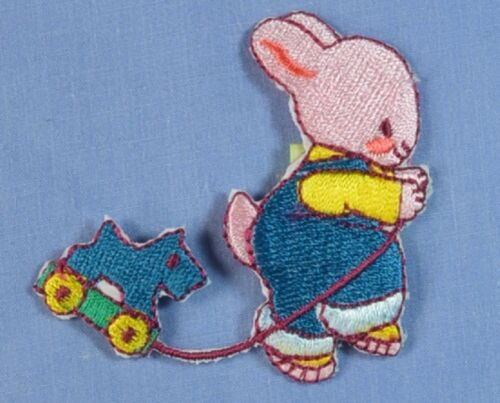 Bunny with Toy Motif