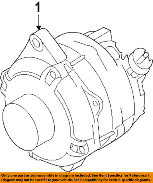 Ford Oem Alternator Al3z10346c Image 1 For Sale Online