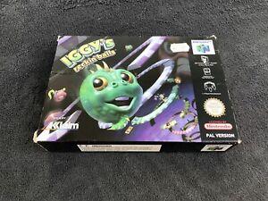 Nintendo-64-Iggy-039-s-Reckin-Balls-EUR-Excellent-etat
