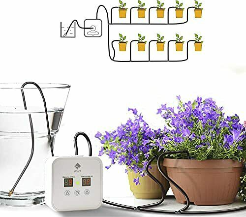 Enhanced Pump Indoor Watering System Plants Automatic Drip Irrigation System ...