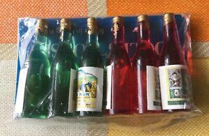 Maison De Poupée 6 Bouteilles De Vin-afficher Le Titre D'origine Approvisionnement Suffisant