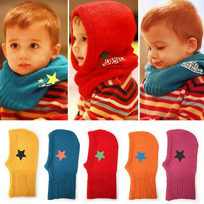 New Autumn Baby Boy Girl Toddler Kids Cute Hat Wool Knitted Winter Warm Cap