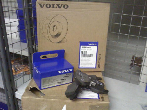 Volvo S80//V70//V60//S60 Front Brake Disc/'s And Pads 07-300mm NEW