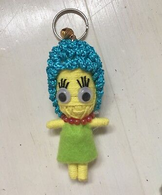 THE SIMPSONS HOMER STRING VOODOO KEYRINGS PARTY BAG CHARACTER