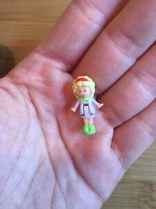 Aimable Vintage 1990 Polly Pocket Bluebird Doll Figure Trousse Compact Set De Rechange Très Bon état-afficher Le Titre D'origine