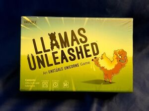 Llamas Unleashed Base Game By Unstable Unicorns SEALED #5B6799