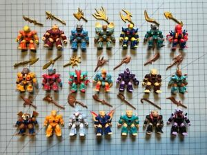 HASBRO-BATTLE-BEASTS-Series-2-Lot-Of-21-including-weapons